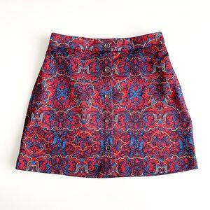 Lush Mini Skirt with Pockets